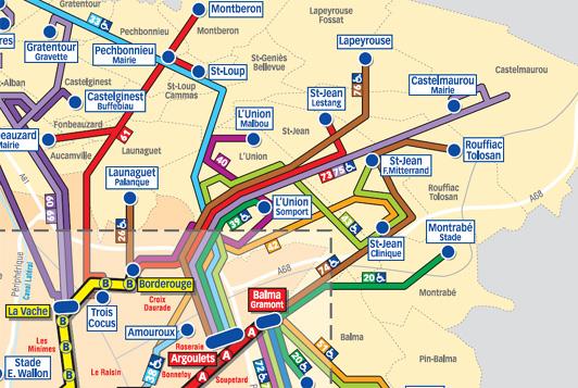 Le Reseau Bus Regulier Ville De L Union