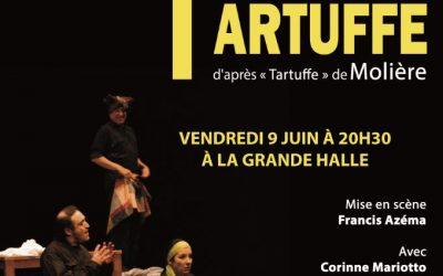 Théâtre : Tartuffe en Noir Lumière, d'après Tartuffe de Molière vendredi 9 juin