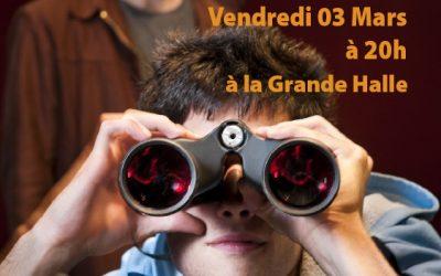 Théâtre : l'Apprenti le 3 mars à 20h