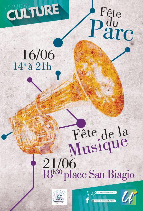 F te de la musique ville de l 39 union for Musique piscine