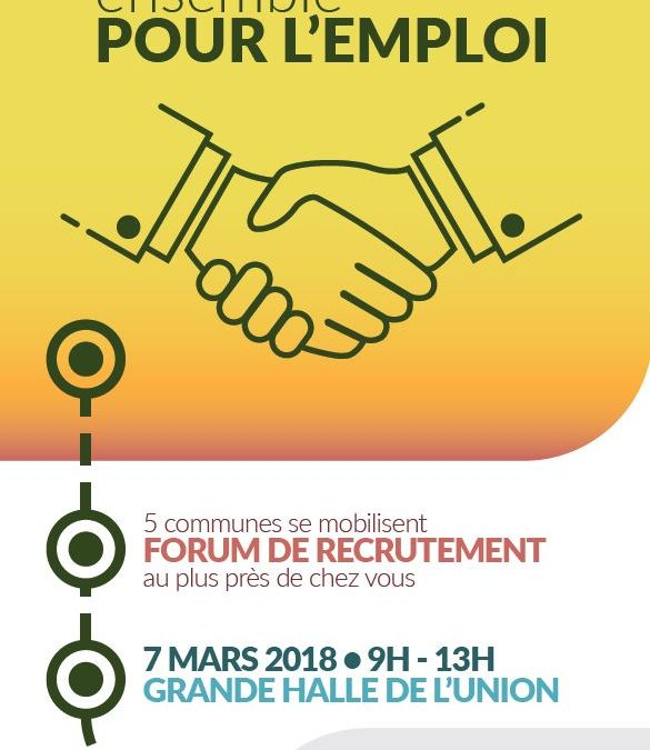 FORUM POUR L'EMPLOI – Mercredi 7 mars
