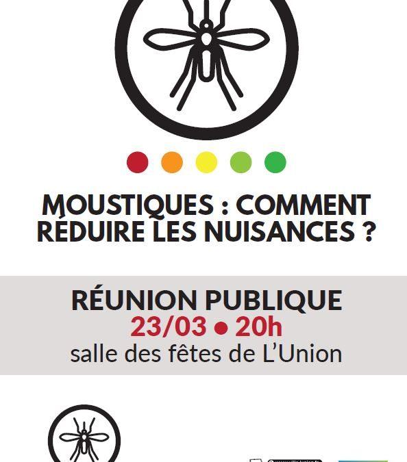 RÉUNION PUBLIQUE – Moustiques : Comment prévenir les nuisances ?