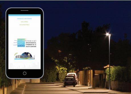 Comment signaler une panne d'éclairage public avec votre smartphone