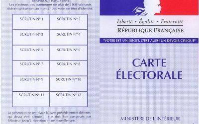 Résultat des élections municipales