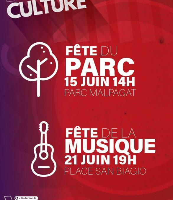 Fête de la musique vendredi 21 juin à partir de 18h à la salle des fêtes