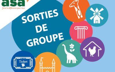 SORTIES DE GROUPE AVEC L'ASA