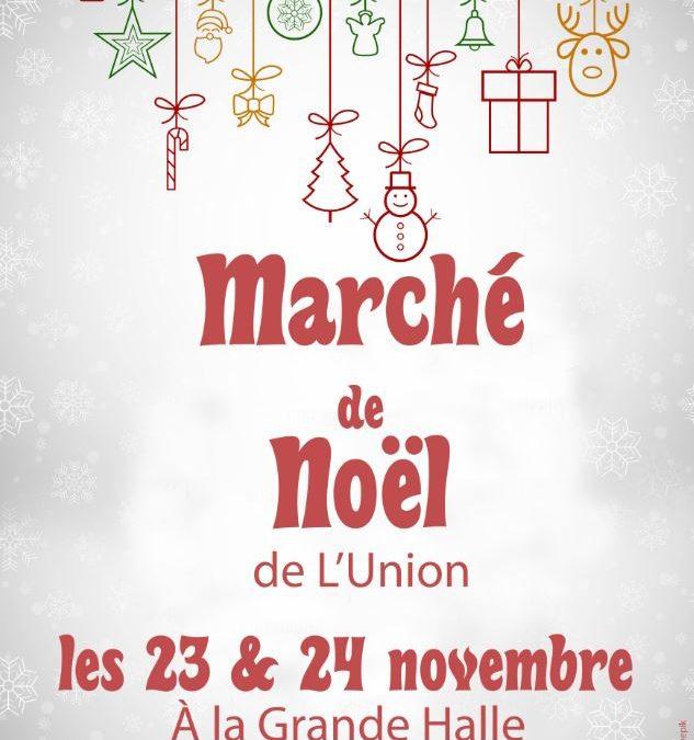 Marché de Noël samedi 23 & dimanche 24 novembre à la Grande Halle