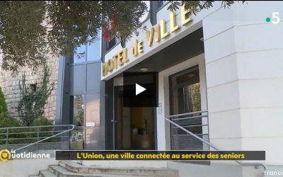 L'UNION DANS LA QUOTIDIENNE DE FRANCE 5