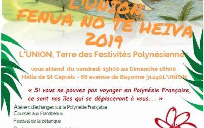 Festival Fenua No Te Heiva 2019 – L'Union, Terre des Festivités Polynésiennes