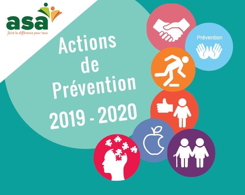 Actions de prévention de l'ASA