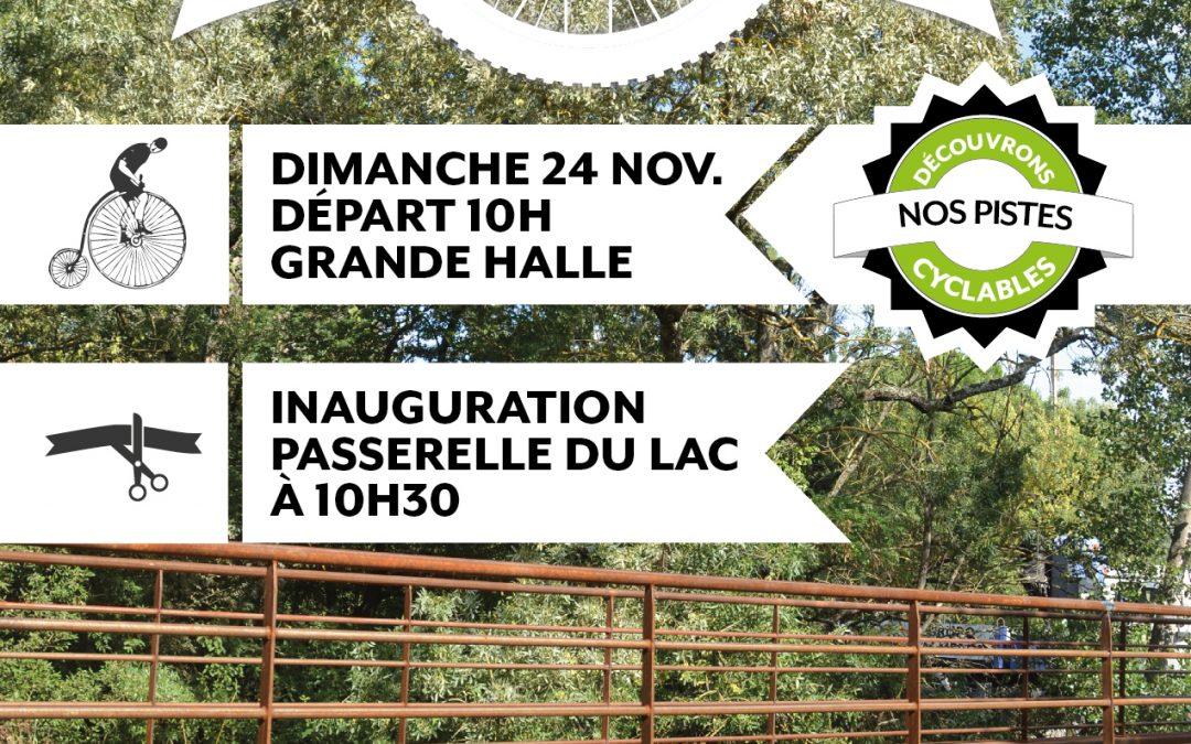 L'Union en piste(s) – inauguration de la passerelle du Lac le dimanche 24 novembre à 10h30