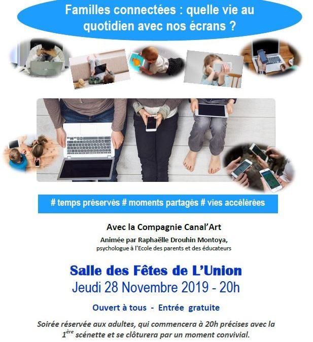 Soirée Théâtre-débat jeudi 28 novembre à 20h à la salle des fêtes