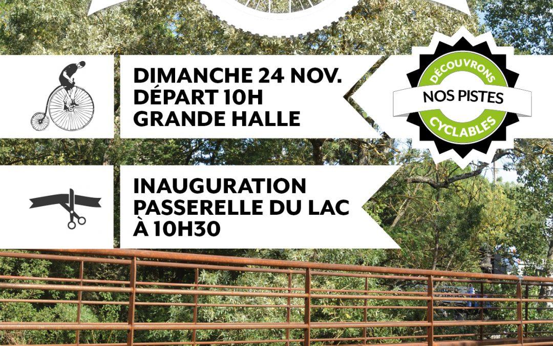 L'Union en piste(s) – découverte des passerelles du lac – dimanche 24 novembre à 10h
