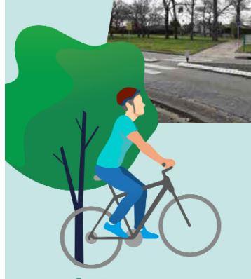 Un nouvel itinéraire cyclable VERS LE MÉTRO BALMA GRAMONT