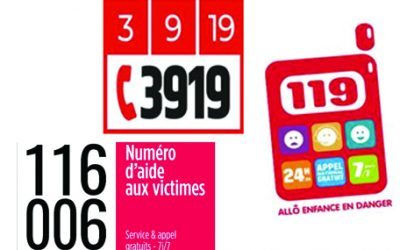 VIOLENCES INTRA-FAMILIALES : 3 NUMEROS ET VOS PHARMACIES