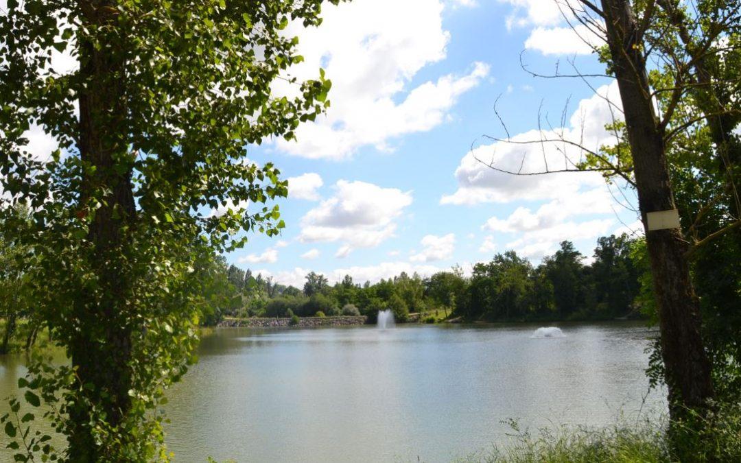 Ré-ouverture du lac de Saint-Caprais