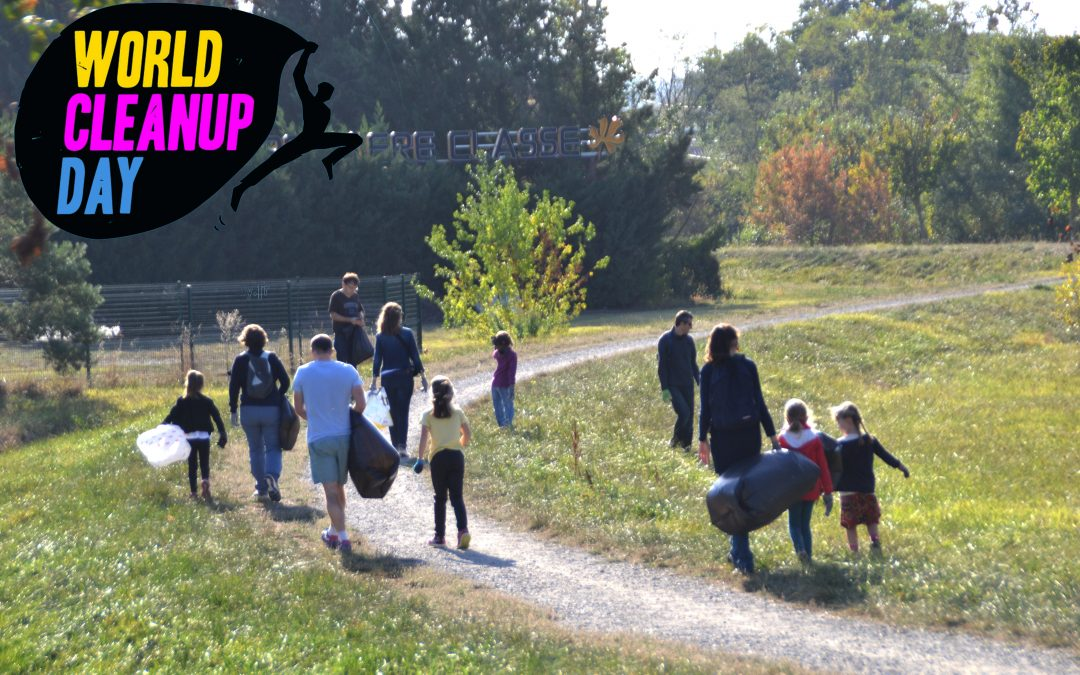 World Cleanup Day samedi 19 septembre – 10h00