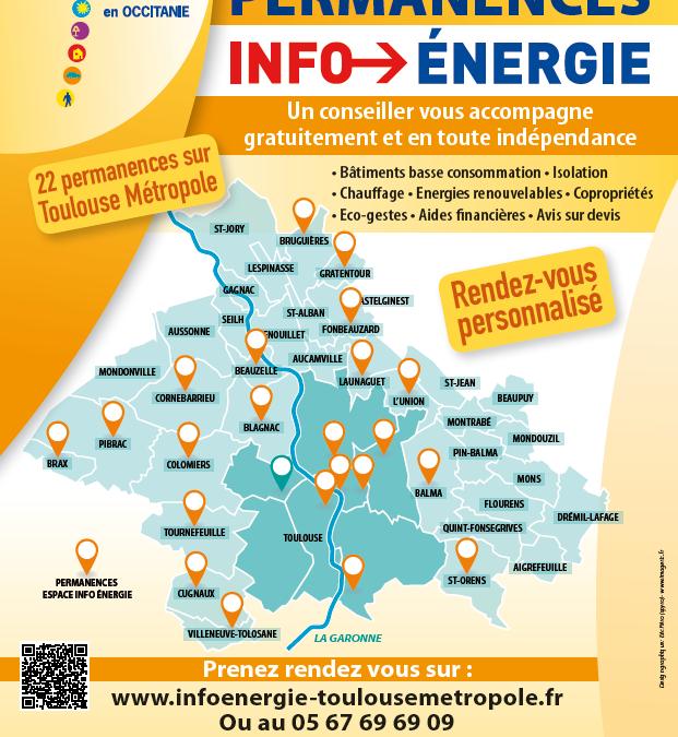 Les permanences Info-Energie reprennent