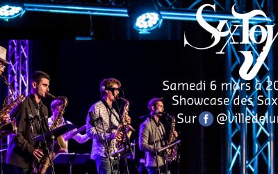 Showcase des Saxtoys – Samedi 6 mars