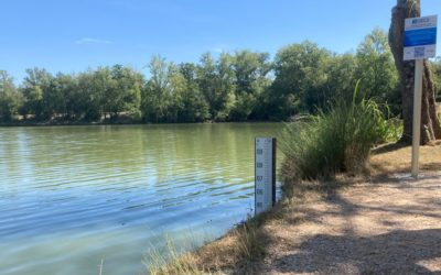 Projet OECS – Participation citoyenne pour suivre le niveau d'eau du lac