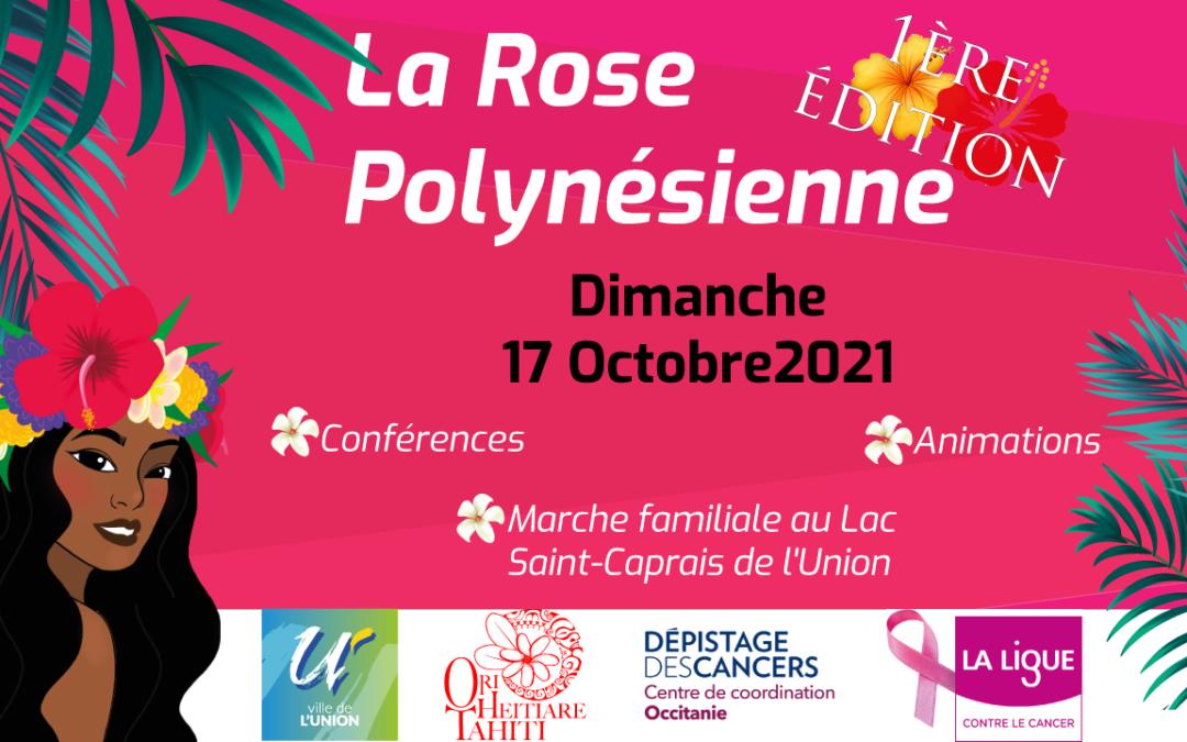 La rose Polynésienne – Course solidaire